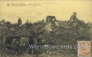 Belgium, België, la Belgique, Belgien Ruines de Dixmude  Ruines de Dixmude