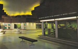 The colourful Rufe Gibbs Hall of the  Vancouver Public Aquarium,  Stanley Par...