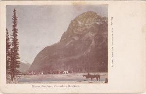 Mount Stephen , Canadian Rockies , Canada , PU-1907