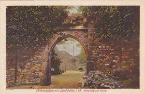 Germany Lindenfels Eingang Zur Burg