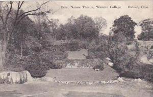 Ohio Oxford Ernst Nature Theatre Western College