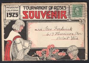 1925 Tournament of Roses Souvenir Folder