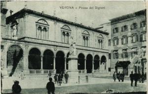 CPA VERONA Piazza dei Signori . ITALY (493649)