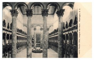 Pension Office Interior, now Building Museum, Washington, DC Postcard *5N(3)30