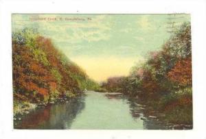 Broadhead Creek, E. Stroudsburg, Pennsylvania, PU-1937