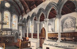 The Royal Pew, Whippingham Church Interior view Eglise 1906