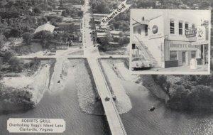 CLARKSVILLE , Virginia, 1940-50s ; Roberts Grill