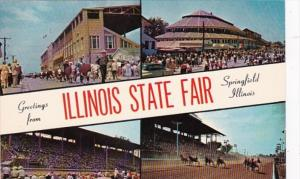 Illinois Springfield Greetings From The Illinois State Fair
