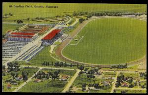 AK-SAR-BEN Field Omaha NE unused c1930s