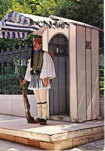 Greece, Presidential Guard, Evzone, Evzon, used Postcard
