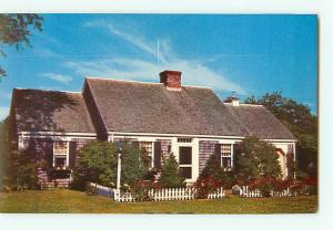Vintage Postcard Cape Cod House New England  # 2510