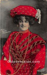 Miss Marie Studholme Theater Actor / Actress Postal Used Unknown