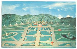 Model of the grounds at the Shrine of our Lady of Grace, near Colebrook, NH