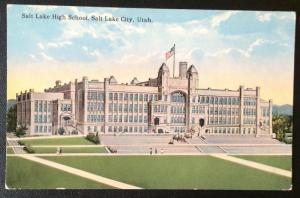 Salt Lake High School, Salt Lake City, Utah, Souvenir Novelty Co. 516
