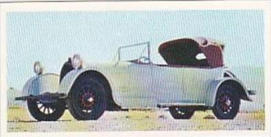Craven Black Cat Vintage Cigarette Card Vintage Cars No 8 1921 Heine Velox USA
