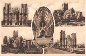 BR81030 wells cathedral  uk
