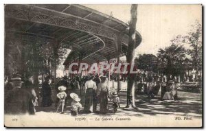 Vichy - the Covered Gallery - Old Postcard
