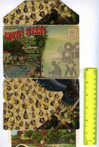 241870 USA Homes of MOVIE STARS Vintage set of 18 views