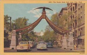 Utah Salt Lake City The Eagle Gate