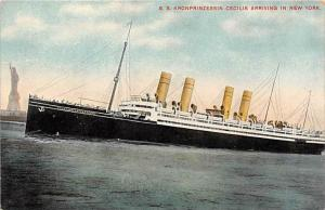 5144 S.S. Kronprinzessin Cecile   North German Lloyd Lines