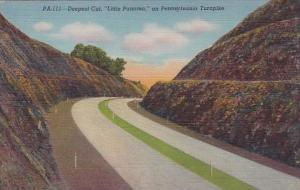 Deepest Cut Little Panama On Pennsylvania Turnpike Pennsylvania