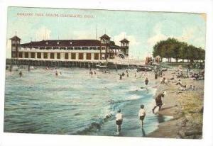 Bathing At Gordon Park Beach, Cleveland, Ohio, 1907 PU