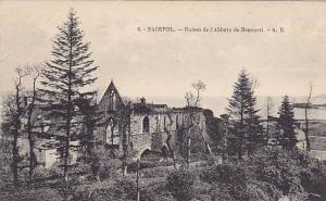 Ruines De l'Abbaye De Beauport, Paimpol (Côtes-d'Armor), France, 1900-1910s