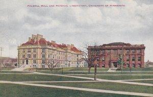 MINNEAPOLIS, Minnesota, 00-10s; Folwell Hall & Physical Laboratory, U. Of M.