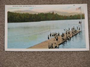 Bathing Pier, Round Pond, N.Y.