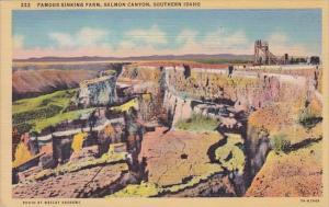 Famous Sinking Farm Salmon Canyon Southern Idaho