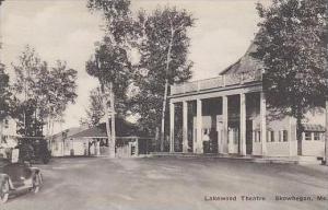 Maine Showhegan Lakewood Theatre Albertype
