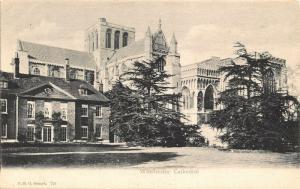 Winchester Cathedral Cattedrale Dom Postcard