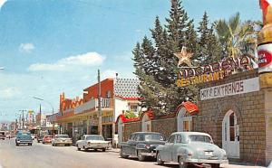Mexico Postcard Tarjeta Postal Calle Madero, Street