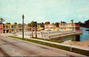 Florida Panama City The Cabana Motel 1960