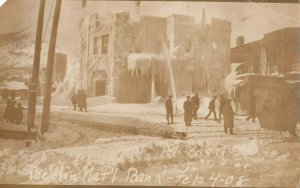 RP: BERLIN , New Hampshire , 1908 ; National Bank Fire