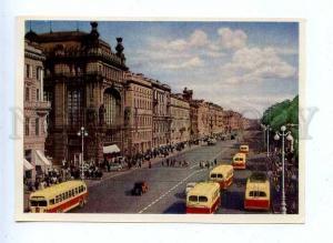 183398 RUSSIA LENINGRAD Nevsky Prospect IZOGIZ 1956 year