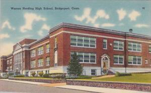 Connecticut Bridgeport Warren Harding High School