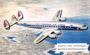 Eastern's new 88 passenger super constellation Airplane Unused