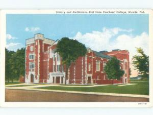 Linen Ball State Teachers College - Muncie Indiana IN E1909