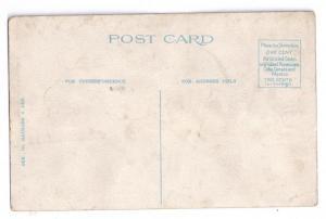 It Floats Atlantic City Co NJ Vintage Comic Postcard