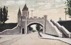 C. P. R., St. Louis Gate, Quebec, Canada, 1900-1910s