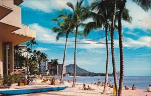 Waikiki Beach Honolulu Hawaii 1977
