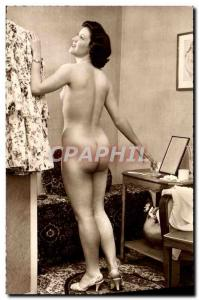 Postcard Modern Naked erotic Woman