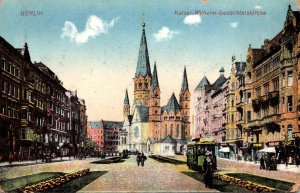 Germany Berlin Kaiser Wilhelm Gedaechtniskirche