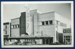 Anchorage Alaska ak 4th Avenue Movie Theater theatre Real Photo Postcard RPPC