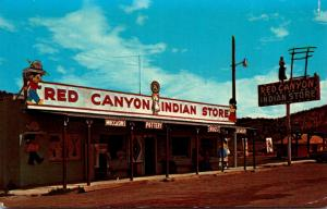 Utah Pangultch Red Canyon Indian Store