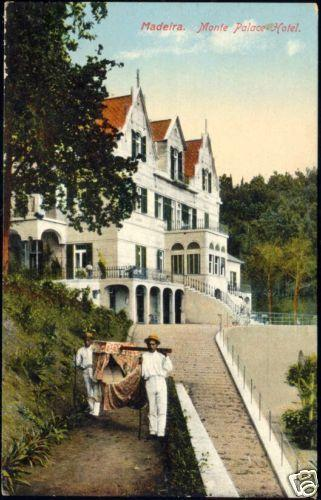 portugal, MADEIRA, Monte Palace Hotel (1910s)