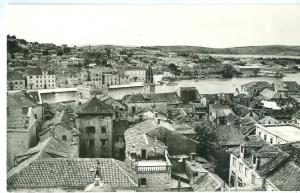 Croatia, TROGIR, real photo Postcard