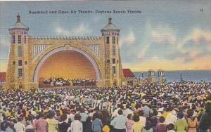 Florida Daytona Beach Bandshell and Open Air Theatere Tichnor