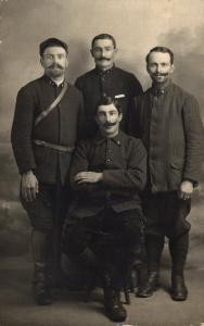 Military - Postcard RPPC Group WW1 Army 02.79